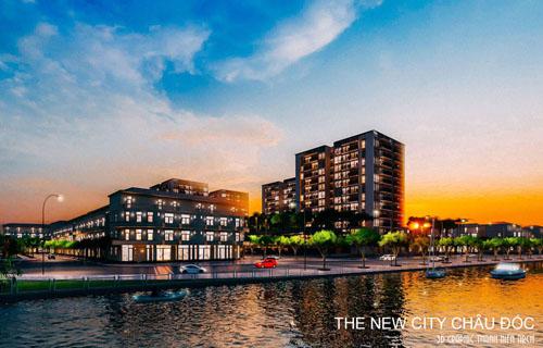 KDC hiện đại The New City Châu Đốc